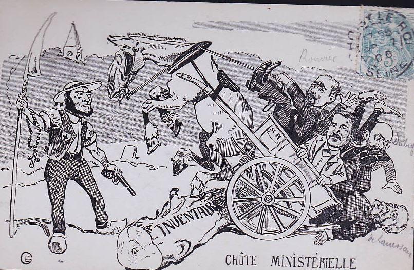Separation caricature